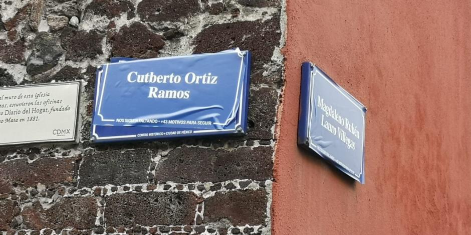 Cambian nombres de calles