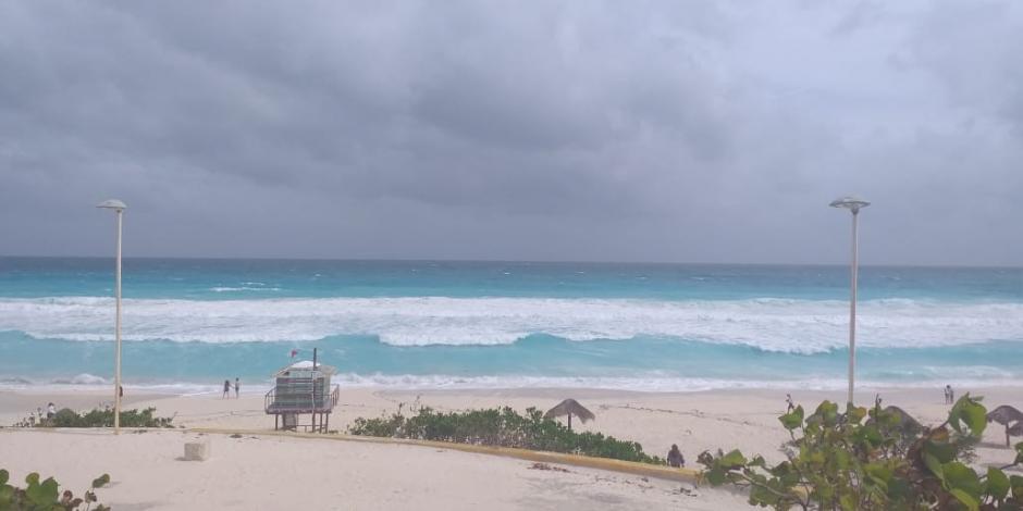 Huracán Zeta-Cancún