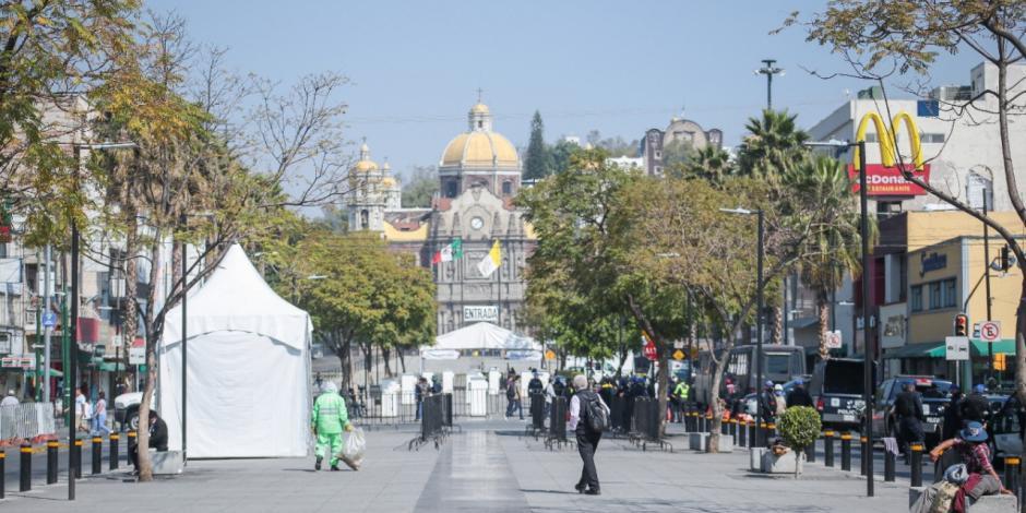 Basílica por primera vez sin creyentes un 12 de diciembre
