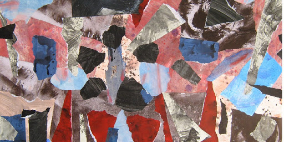 Los collages de Rosa Velasco