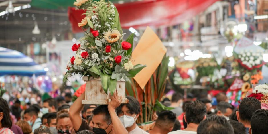 Mercado de las flores de Jamaica