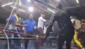 Pelea de box en África