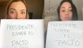 Regina Blandón y Maya Zapata