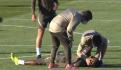 ¡Trágico! Estrella del Atlético de Madrid se desvanece en pleno entrenamiento