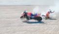 Accidente MotoGP