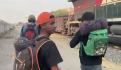 Migrantes tren