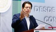 Mario Delgado respalda nombramiento de Herrera para encabezar Hacienda