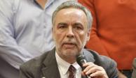 Alfonso Ramírez Cuéllar, presidente nacional de Morena, en imagen de archivo