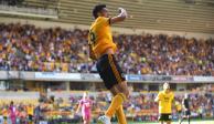 Raúl Jiménez anota su primer gol y le da el triunfo a Wolverhampton