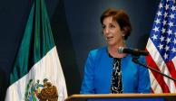 Anuncia Roberta Jacobson su renuncia como embajadora de EU en México para mayo