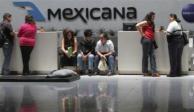 Juez ordena pago a extrabajadores de Mexicana de Aviación