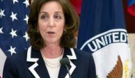 EU reitera llamado para confirmar a Jacobson como embajadora en México