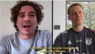 Memo Ochoa y Manuel Neuer