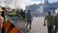 Pide AMLO intervención de FGR tras toma de presa La Boquilla