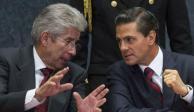 Gerardo Ruiz Esparza y EPN