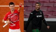 Cristiano Ronaldo y Novak Djokovic