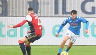 """""""Chucky"""" Lozano Napoli golazo"""