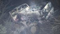 Camionetas con cuerpos calcinados enTamaulipas