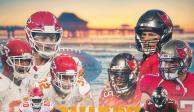 Kansas City CHIEFS vs Tampa Bay BUCCANEERS: Dónde y cuándo ver en vivo el Super Bowl LV NFL HORARIO CANAL TRANSMISIÓN ONLINE GRATIS INTERNET