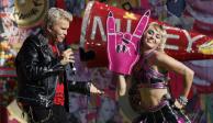 Billy Idol y Miley Cyrus