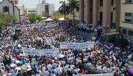 Marcha en apoyo al gobernador de Tamaulipas, Francisco Cabeza de Vaca