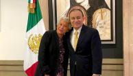 Sánchez Cordero y Alfonso Durazo