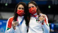 TOKIO 2020: Alejandra Orozco y Gaby Agúndez, bronce en clavados de Juegos Olímpicos