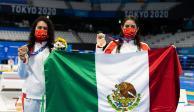 TOKIO 2020: ¿Quiénes son Alejandra Orozco y Gaby Agúndez, medallistas de bronce en los Juegos Olímpicos?