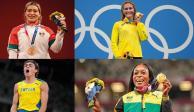 Los rostros del olimpismo que brillaron en Tokio 2020
