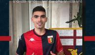 VIDEO: Presentan a Johan Vásquez en el Genoa de Italia