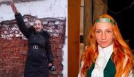 La mujer neonazi es madre, y obligó a su hija menor de edad a vivir como un gato