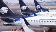 Flujo de pasajeros de Aeroméxico cae 41.5% en marzo por COVID-19