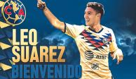 ¿Quién es y cómo juega Leo Suárez, refuerzo del América?