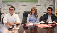 """La gobernadora Claudia Pavlovich gracias al programa """"En Sonora Todos Jalamos"""", buscablindar a las familias del coronavirus COVID-19"""