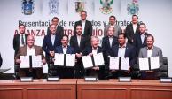 Guanajuato, SLP, Jalisco, Querétaro y Aguascalientes integran Alianza Centro-Bajío-Occidente