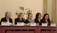 Escuchamos y atendemos reclamos de mujeres: Sánchez Cordero