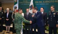Refrenda Ejército Mexicano compromiso con la paz y el orden en Tamaulipas
