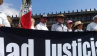 Gabinete de Seguridad recibe a activistas de la Caminata por la Paz