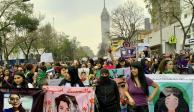 Medios buscan acercamiento con feministas para dialogar
