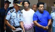 Ronaldinho celebra su cumpleaños 40 con un asado en la cárcel