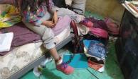 Rescatan a niña de cinco años que estaba encadenada en San Luis Potosí