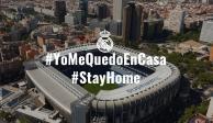 Real Madrid envía mensaje de concientización por Covid-19