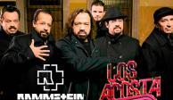 """Los Acosta bajan del """"tren del mame"""" y desmienten concierto con Rammstein"""