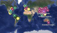 Usuarios crean mapa en Google para ubicar casos de coronavirus