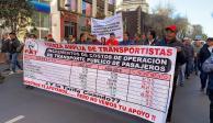 Insisten transportistas de la CDMX en tener aumento de dos pesos en tarifa