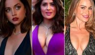 Salma Hayek, Sofía Vergara y Ana de Armas, el poder latino en los Globos de Oro