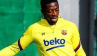 Dembélé se pierde el resto de la temporada por rotura en el tendón