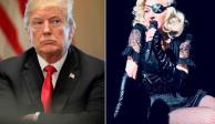 """Madonna arremete contra Donald Trump por """"inventar guerra con Irán"""""""
