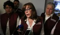 """Monreal """"empinó"""" a magistrados: Yeidckol tras fallo del TEPJF"""