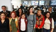 Presenta Patricia Durán línea de atención a la mujer en Naucalpan